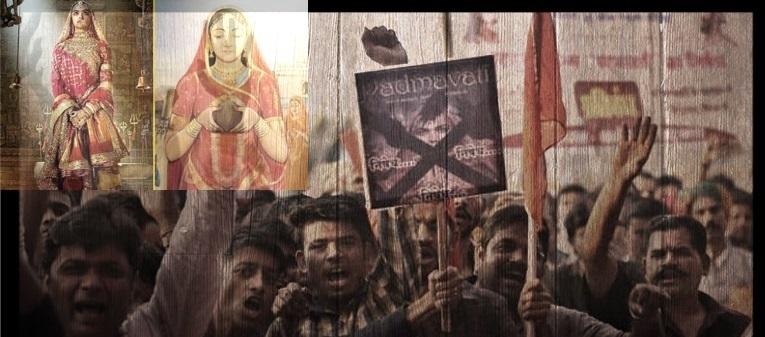 Protest against Padmavati