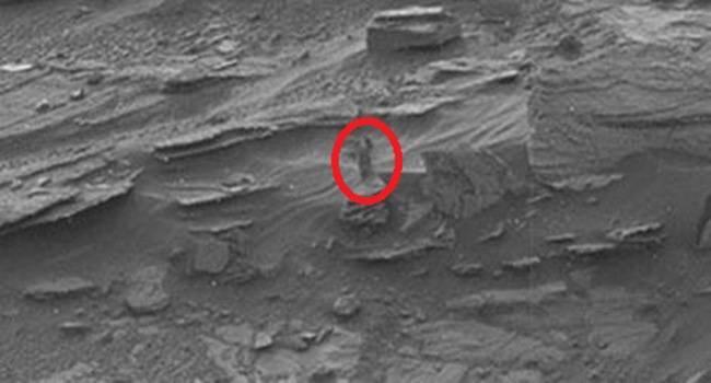 Woman on Mars
